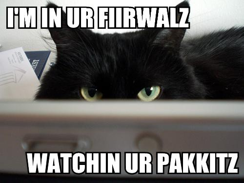 LOLcat: Firewall Cat